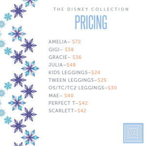 LuLaRoe Frozen Collection