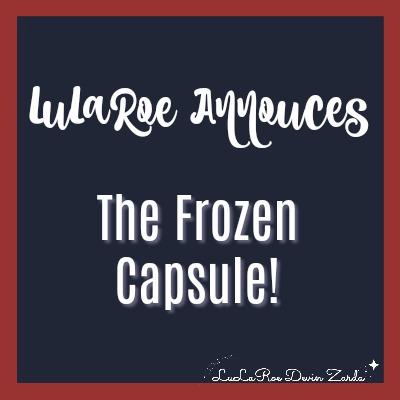 LuLaRoe Frozen