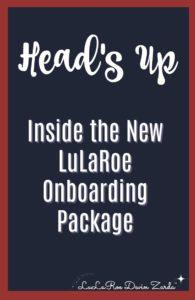 LuLaRoe Onboarding