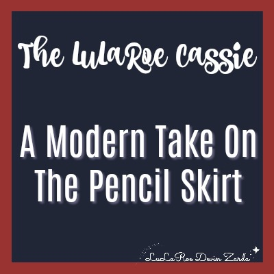 LuLaRoe Cassie, Pencil Skirt