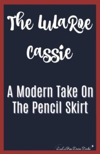 LuLaRoe Cassie, Pencil Skirt