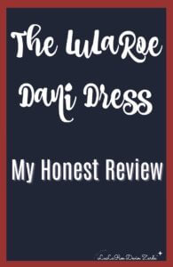 LuLaRoe Dani Review