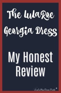 LuLaRoe Georgia Dress Review