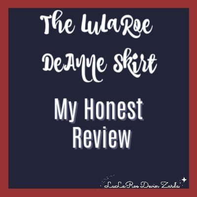 The LuLaRoe DeAnne Skirt-My Honest Review