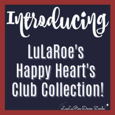 Introducing LuLaRoe's Happy Hearts Club Collection!