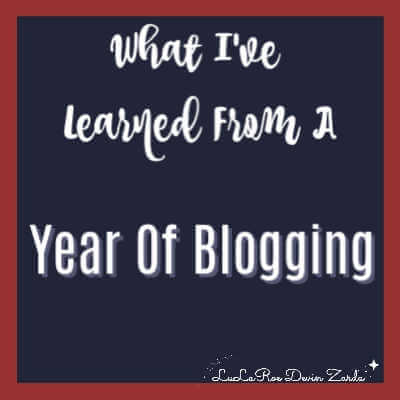 What I've Learned From a Year of Blogging