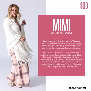 LuLaRoe Mimi size
