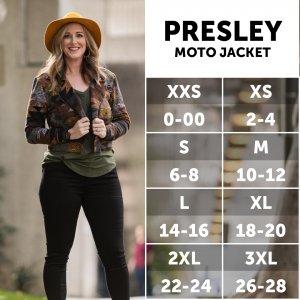 LuLaRoe Presley Size