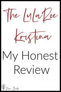 LuLaRoe Kristina Review
