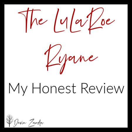 LuLaRoe Ryane Review